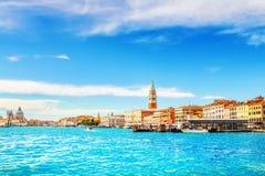 Il grande canale, Venezia Fotografie Stock Libere da Diritti