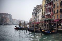 Il grande canale a Venezia Immagine Stock