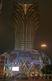 Il grande casinò di Lisbona a Macao Fotografia Stock Libera da Diritti