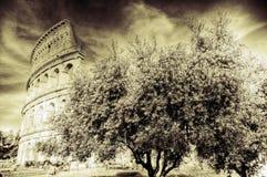 Il grande Colosseum Fotografia Stock Libera da Diritti
