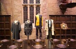 """Il grande corridoio nel giro di Warner Brothers Studio """"la fabbricazione di Harry Potter"""" a Londra, Regno Unito fotografie stock"""