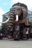 Il grande elefante Fotografia Stock