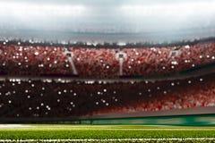 Il grande fondo 3d dell'arena del multisport rende Fotografia Stock Libera da Diritti