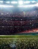 Il grande fondo 3d dell'arena del multisport rende Fotografie Stock
