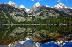 Il grande intervallo di Teton fotografia stock