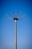 Il grande lamppost Immagini Stock
