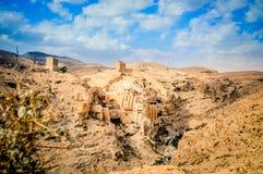 Il grande Lavra della st Sabbas il Saba santificato di marzo Immagini Stock