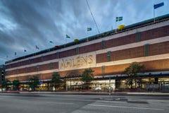 Il grande magazzino Ahlens Immagini Stock