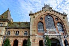 Il grande mercato Corridoio a Budapest Fotografia Stock