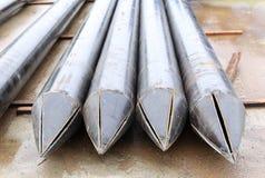 Il grande metallo convoglia il pointe Fotografie Stock Libere da Diritti