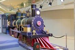 Il grande modello locomotivo Fotografia Stock
