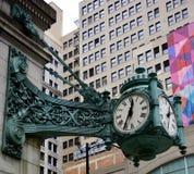 Il grande orologio Fotografia Stock Libera da Diritti