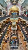 Il grande orologio australiano in regina Victoria Building fotografia stock