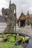 Il grande palazzo, al centro di Bangkok, la sua costruzione ha cominciato 1782, all'ordine di re Phutthayotfa Chulalok thailand fotografia stock