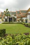 Il grande palazzo, al centro di Bangkok, la sua costruzione ha cominciato 1782, all'ordine di re Phutthayotfa Chulalok thailand fotografie stock