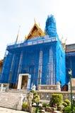 Il grande palazzo in costruzione Immagini Stock Libere da Diritti