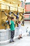 Il grande palazzo reale, Tailandia immagini stock libere da diritti