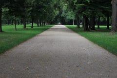 Il grande parco del giardino, Dresda Fotografie Stock