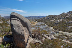 Il grande plateau del granito, Mt Parco nazionale della Buffalo, Australia Immagini Stock