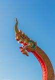 Il grande serpente del Naga Fotografia Stock