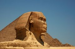 Il grande Sphinx di Giza 3 Fotografie Stock