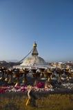 Il grande stupa Fotografia Stock Libera da Diritti