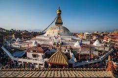 Il grande stupa Fotografie Stock