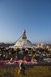 Il grande stupa Bodnath Fotografie Stock