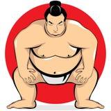 Il grande sumo Immagine Stock