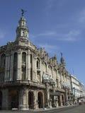 Il grande teatro di Avana Fotografia Stock