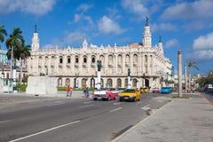Il grande teatro di Avana, a Avana, Cuba immagine stock libera da diritti
