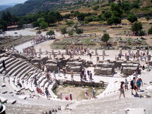 Il grande teatro di Ephesus immagini stock libere da diritti