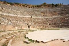 Il grande teatro a Ephesus Fotografia Stock