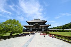 Il grande tempio del Giappone Immagini Stock