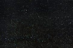 Il granito naturale nero con le scintille, ha chiamato Emerald Pearl immagini stock