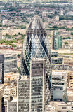 Il grattacielo del cetriolino a Londra Fotografie Stock Libere da Diritti