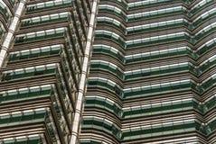 Il grattacielo mura il fondo Fotografia Stock Libera da Diritti