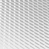 Il grey astratto 3D blocca la geometria riflettente Immagine Stock Libera da Diritti