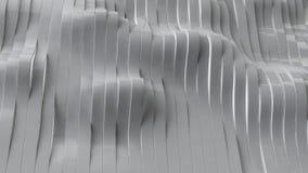 il grey 3d barra il fondo, l'illustrazione 3d Immagini Stock Libere da Diritti