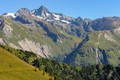 Il Großglockner nel centro del parco nazionale Hohe Tauern Immagini Stock