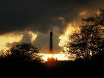Il guardiano della torre Fotografia Stock