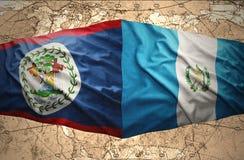 Il Guatemala e Belize Fotografia Stock
