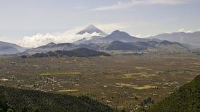Il Guatemala - paesaggio Immagine Stock