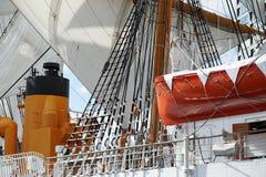 Il guscio della barca a vela immagine stock libera da diritti