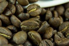 Il gusto del caffè di felicità Immagini Stock