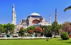 Il Hagia Sophia a Costantinopoli Fotografie Stock Libere da Diritti