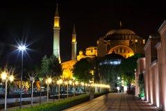 Il Hagia Sophia, Costantinopoli, Turchia Immagine Stock