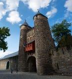 Il Helpoort (portone di Hell's) di Maastricht immagini stock
