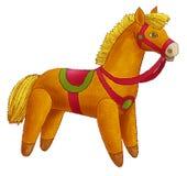 Il horsy-giocattolo Fotografie Stock Libere da Diritti
