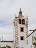 Il Iglesia Santa Maria a Betancuria su Fuerteventura Fotografia Stock